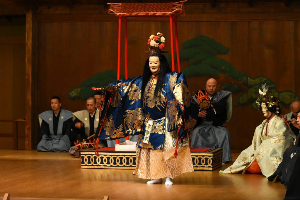サムネイル画像:「東次郎 家伝十二番」 <br/>「大典 奉祝の芸能」